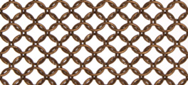 Whiting & Davis Stainless Steel Ring Mesh Color Bronze