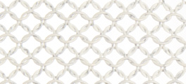 Whiting & Davis Stainless Steel Ring Mesh Color White