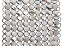 Whiting and Davis Architectural Drapery small stainless spider mesh