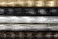 Whiting and Davis Architectural Drapery bubble spider mesh finishes