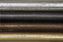 Whiting and Davis Architectural Drapery small stainless spider mesh finishes